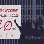 1 เดือนหลังการสวรรคต: ประมวลสถานการณ์ความขัดแย้งและการดำเนินคดีมาตรา 112