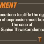Prosecutions to stifle the right to freedom of expression must be stopped The case of Lt. Sunisa Thiwakorndamrong
