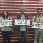 Four international academics detained by Thai Immigration after signing a public statement during the Thai Studies Conference