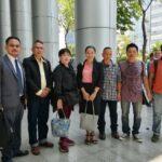 """นัดตรวจพยานฯ คดี 10 คน แชร์ข้อความเพจ """"KhonthaiUk"""" นัดสืบพยานก.พ. 63"""