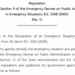 One Month under the State of Emergency: Five Reasons Why the Emergency Decree Should Not Be Extended