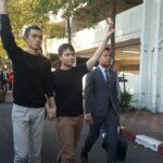 ทัตเทพ-ภานุมาศ ถูกจับกุมตามหมายจับคดี #เยาวชนปลดแอก ให้การปฏิเสธตลอดข้อหา